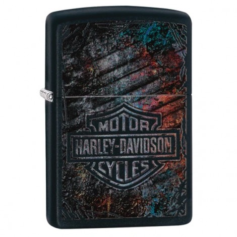 Zapalniczka ZIPPO - Harley Davidson Black Mate