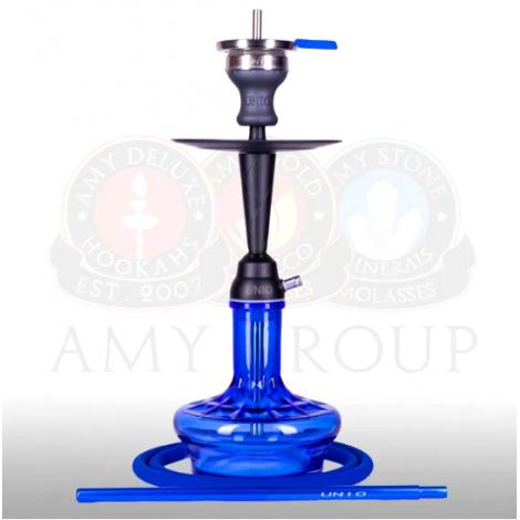 AMY Shisha - UNIO 005.02 Blue 50cm