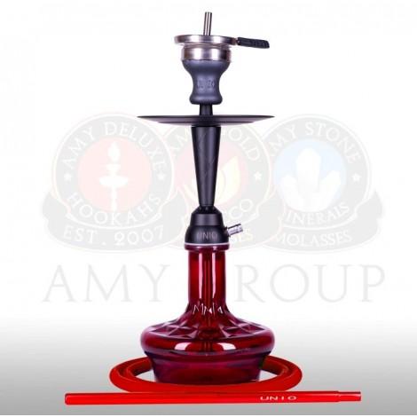 AMY Shisha - UNIO 005.02 Red 50cm