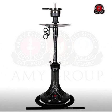 AMY Shisha - 112 Radiant Black 75cm