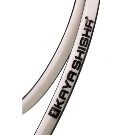 Wąż do Shishy Silikonowy - KAYA Black & White 150cm