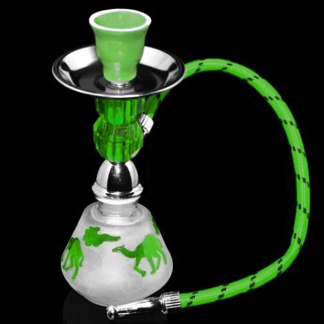 Shisha Mini Camel 17cm - Zielona