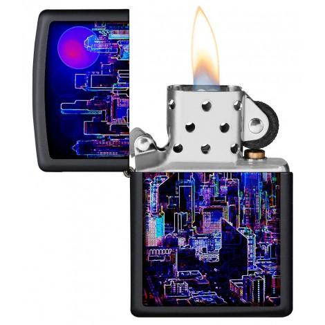 Zapalniczka ZIPPO - Cyberpunk Design