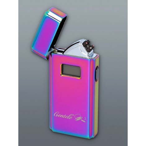 Zapalniczka Plazmowa Gentelo - Glamour Metallic Gasoline