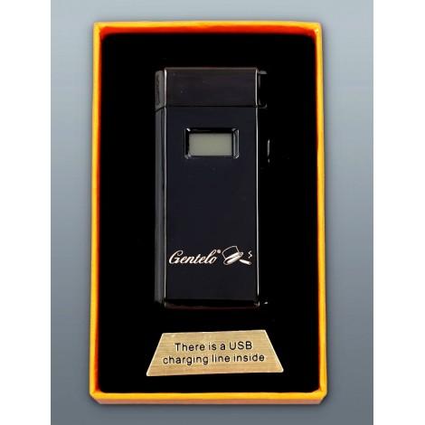 Zapalniczka Plazmowa Gentelo - Glamour Metallic Luxury Black