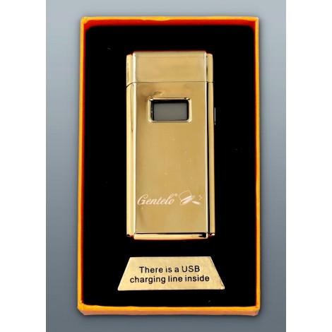 Zapalniczka Plazmowa Gentelo - Glamour Metallic Złoty