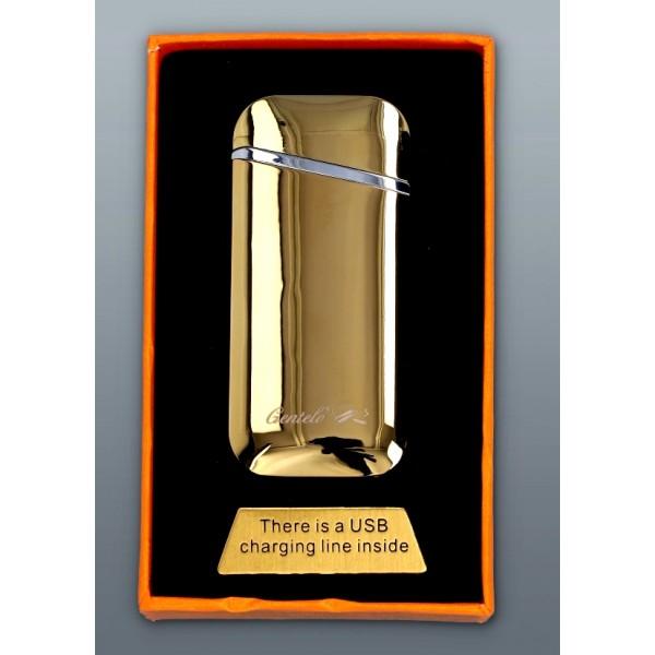 Zapalniczka Plazmowa Gentelo - Glamour Oval Gold