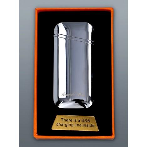 Zapalniczka Plazmowa Gentelo - Glamour Oval Silver