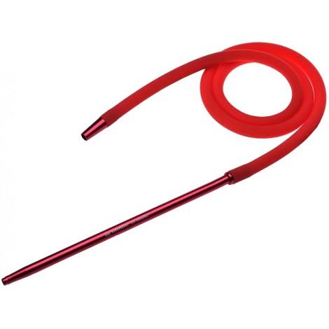 Wąż do Shishy Silikonowy + Ustnik - Red