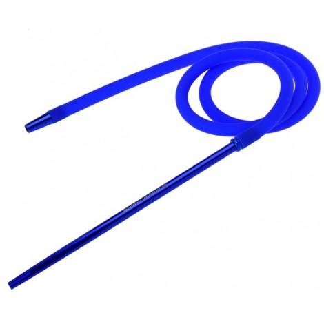 Wąż do Shishy Silikonowy + Ustnik - Blue