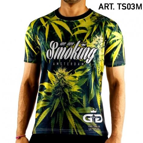 Koszulka GRACE GLASS- Leaf