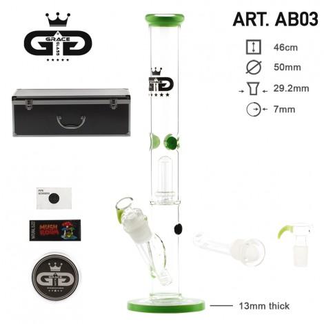 Bongo Grace Glass z Walizką 46cm - Pistacja (AB03)