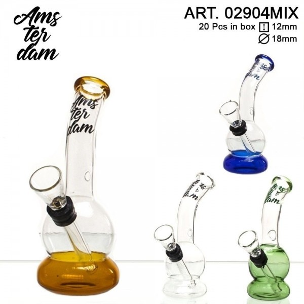 Kieszonkowe Bongo Mini Amsterdam- 12cm Mix Kolorów (02904MIX)