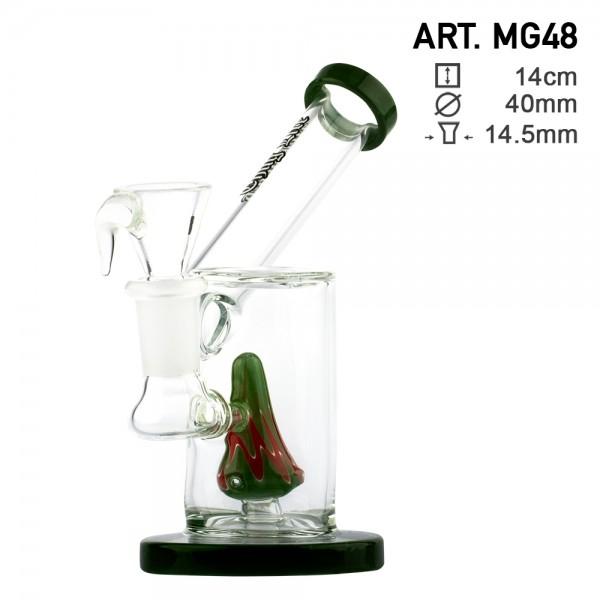 Bongo z Dyfuzorem Thug Life - Sidecar Special Green 14cm (MG48)