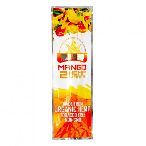True Hemp Organic Wraps 2 szt. - Mango