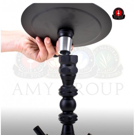 AMY Shisha 062 - Alu Diamond S - Clear BK 62cm