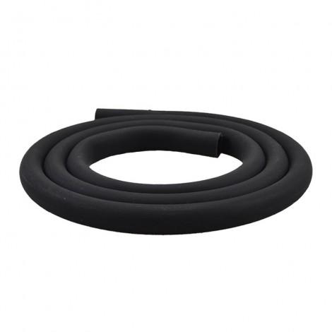 Matowy Wąż do Shishy - Sylikonowy 150cm - Czarny