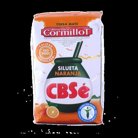 Yerba Mate - CBSe Silueta Pomarańczowa Odchudzająca 0,5kg