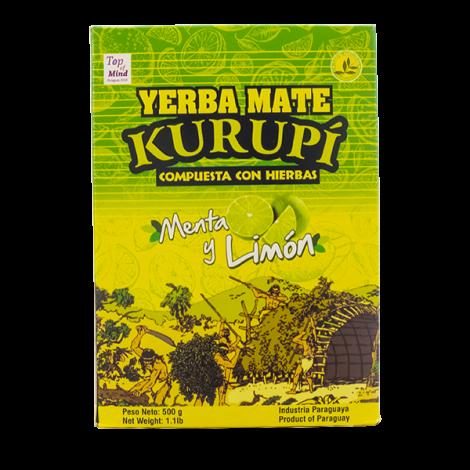 Yerba Mate - Kurupi Mięta & Cytryna - 0,5kg