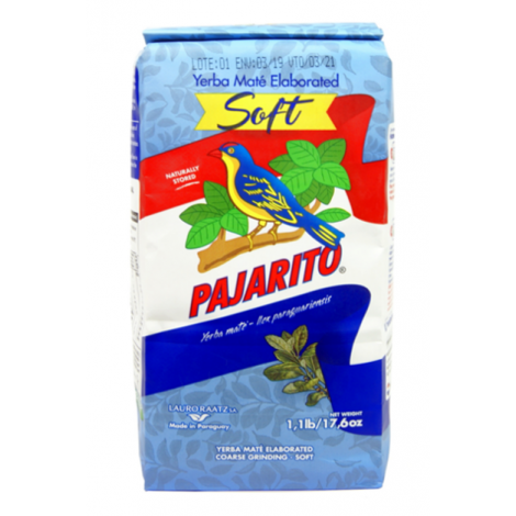 Yerba Mate - Pajarito Soft (Suave) - 0,5kg