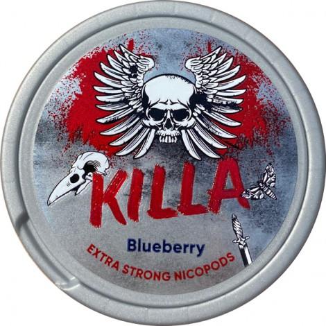 Biały Snuss - KILLA Blueberry