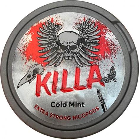 Biały Snuss - KILLA Cold Mint