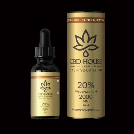 Olej CBD HOUSE 20% - 10ml