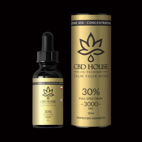 Olej CBD HOUSE 30% - 10ml
