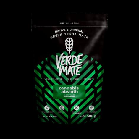 Yerba Mate - VERDE MATE Cannabis Absinth 0,5kg