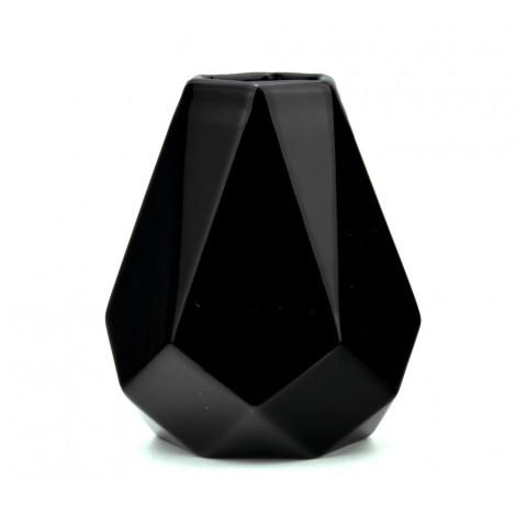 Matero Ceramiczne Diament do Yerba Mate Czarne - 350 ml