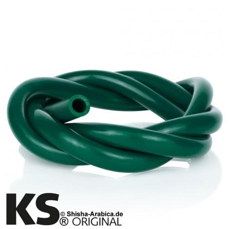 Wąż do Shishy Silikonowy 150cm -  Ciemnozielony