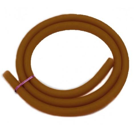 Wąż do Shishy Silikonowy Matowy 150cm - Brązowy