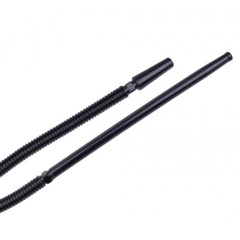 Wąż do Shishy Plastikowy 160cm - Czarny