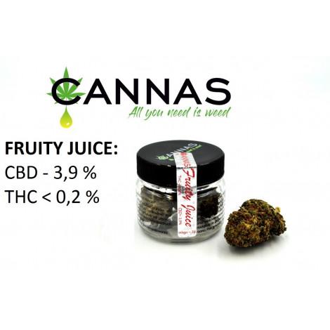 Susz Konopny CBD 3,9% Fruity Juice - 2 gramy