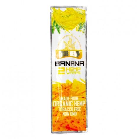 True Hemp Organic Wraps 2 szt. - Banan