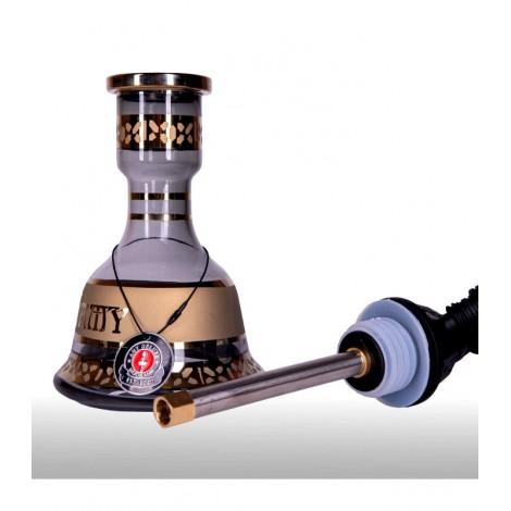 AMY Shisha 088.02 - Mini Harfi Gold 55cm