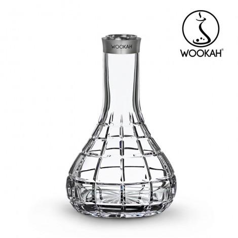 SHISHA WOOKAH - Mastercut Squares - Wenge  65cm