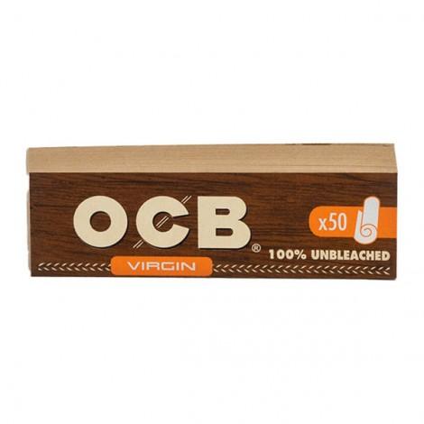 OCB Filter Tips Brown - 50szt