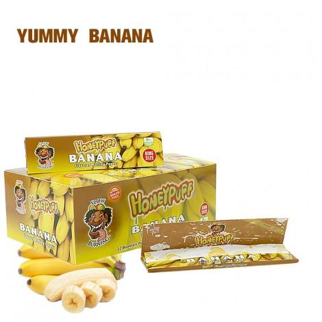 Bibułki Smakowe HONEYPUFF - Banan