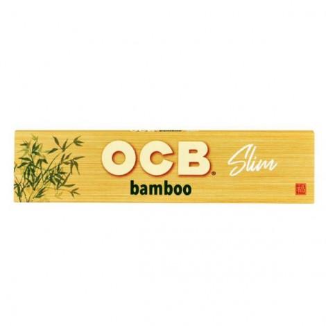 Bibułki OCB Slim - BAMBOO
