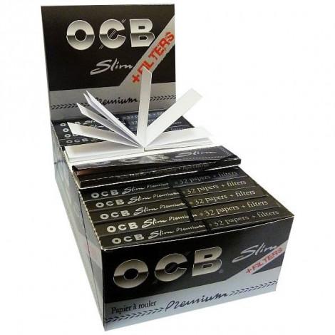 Bibułki OCB Slim + Filtry