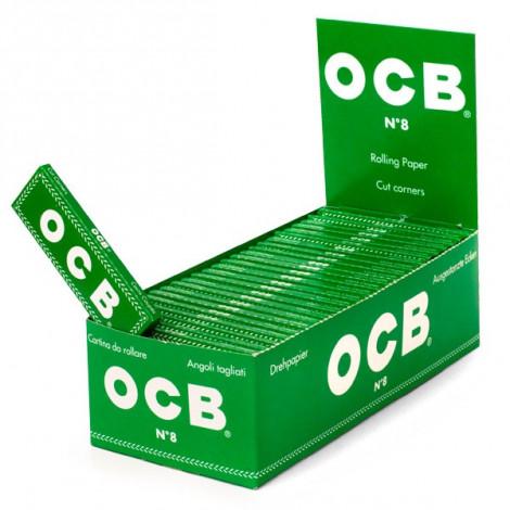 Bibułki OCB No 8 Zielone