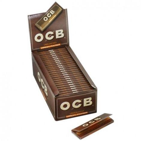 Bibułki OCB Virgin Brown - Krótkie