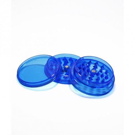 Młynek do Tytoniu Akrylowy 6x2,5cm - Niebieski