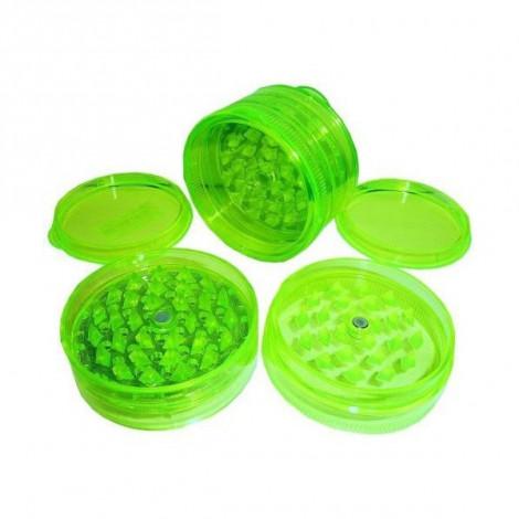 Młynek Akrylowy Duży 3 części 6x4cm - Zielony