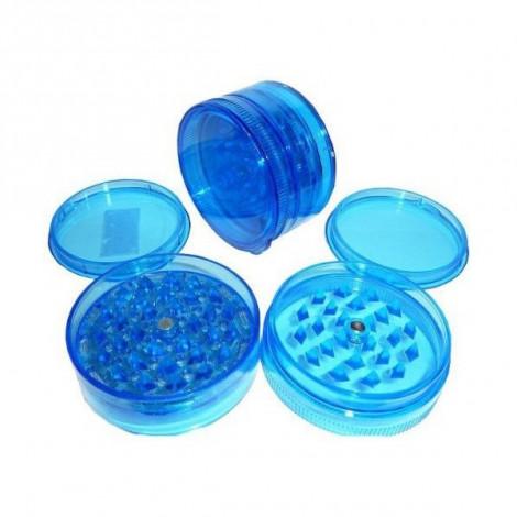 Młynek Akrylowy Duży 3 części 6x4cm - Niebieski