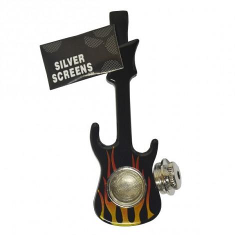 Lufka Gitara + Sitka - Czarna 10cm
