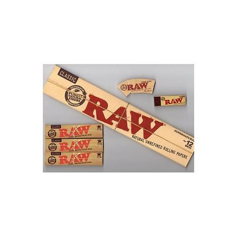 Bibułki RAW XXL 30cm!