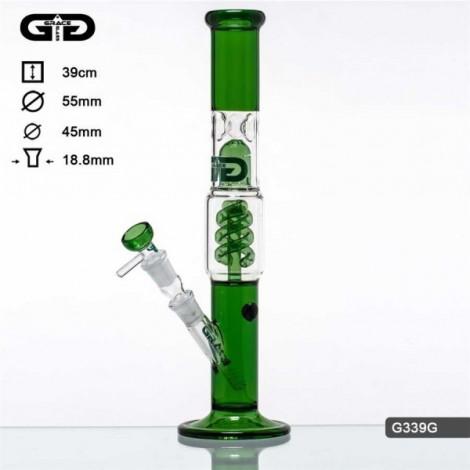 Unikatowe Bongo GG -  Spiral Green 39cm