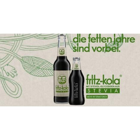 Fritz-Kola 0,33l - Stevia